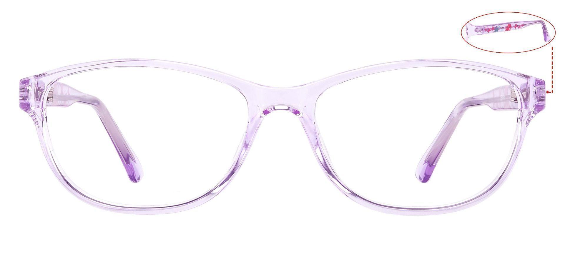 Patsy Oval Prescription Glasses - Purple
