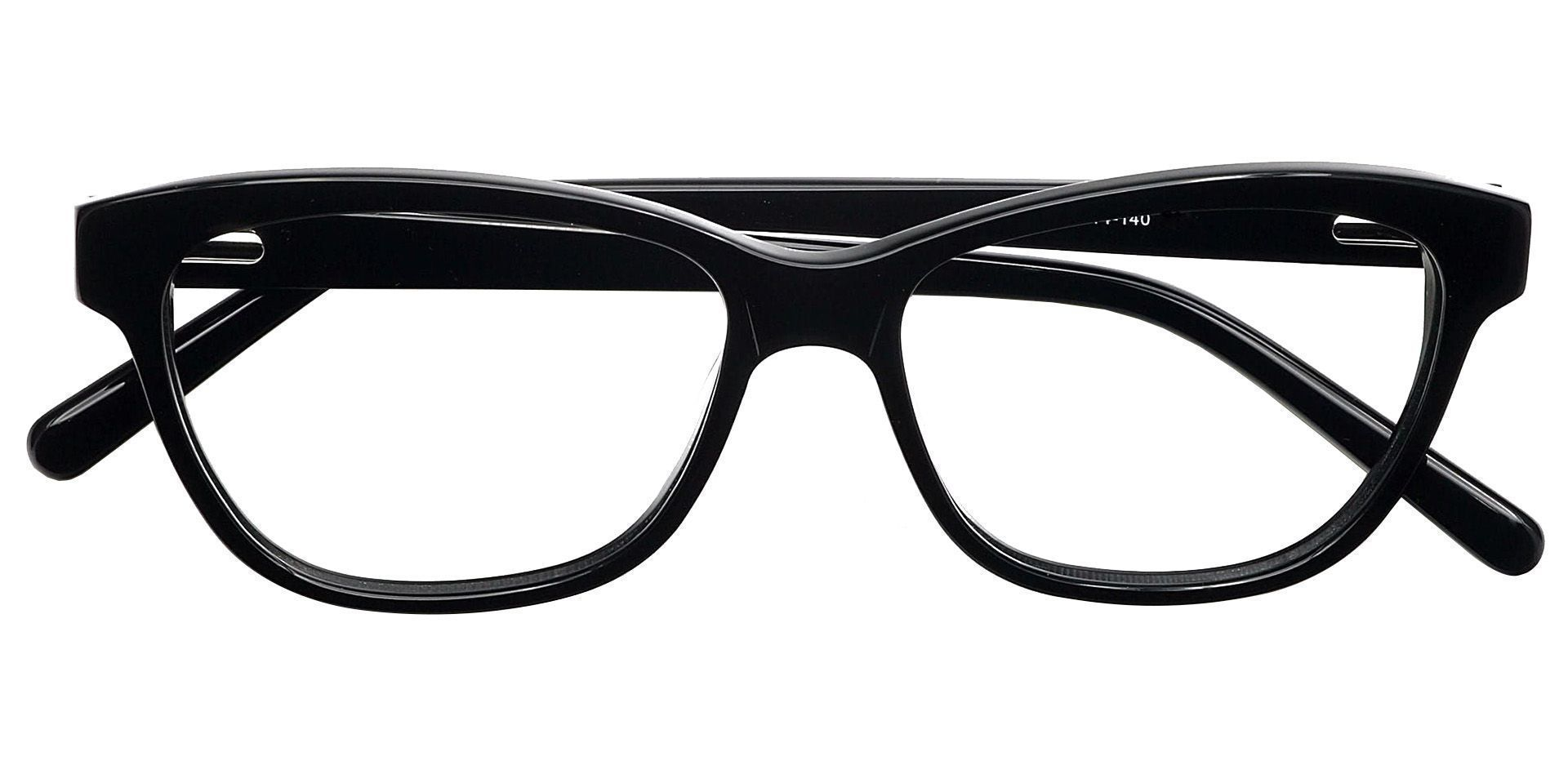 Swell Cat-eye Progressive Glasses - Black