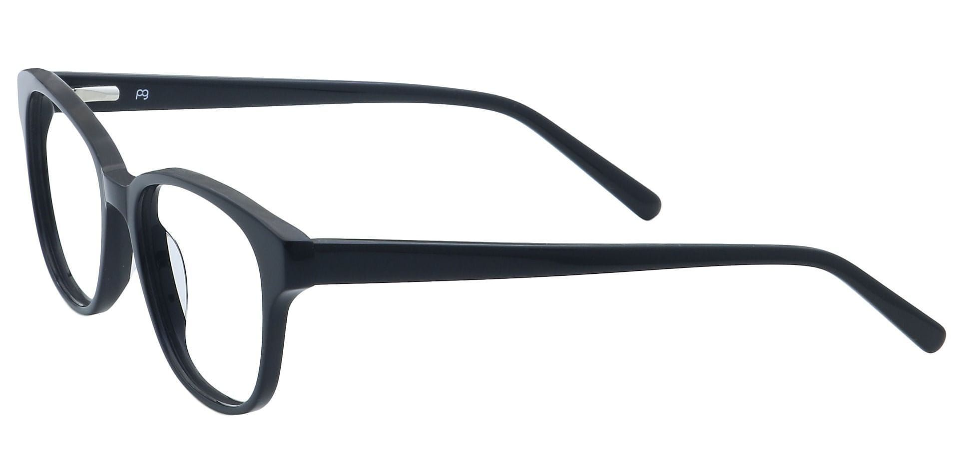 Elan Classic Square Progressive Glasses - Black