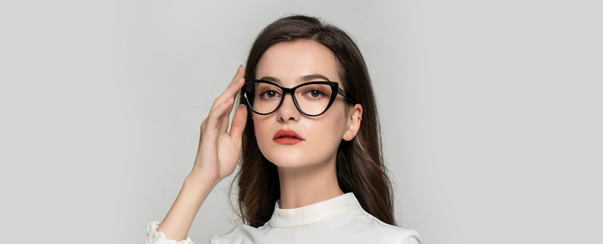 Ireland Cat Eye Reading Glasses - Black