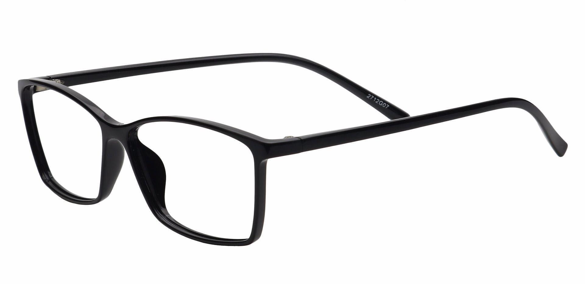 Align Rectangle Eyeglasses Frame - Gray