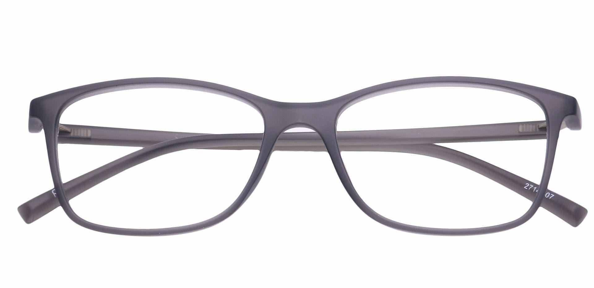 Adorn Rectangle Eyeglasses Frame - Gray