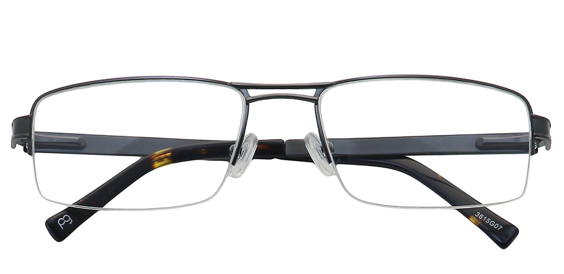 Winter Rectangle Progressive Glasses - Gray