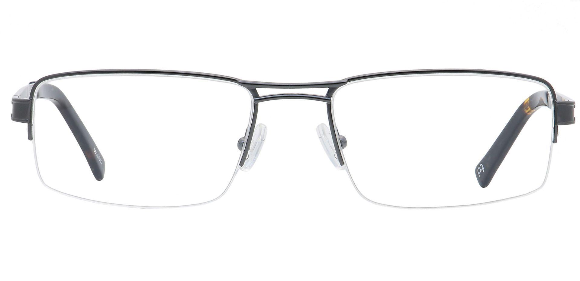 Winter Rectangle Prescription Glasses - Gray