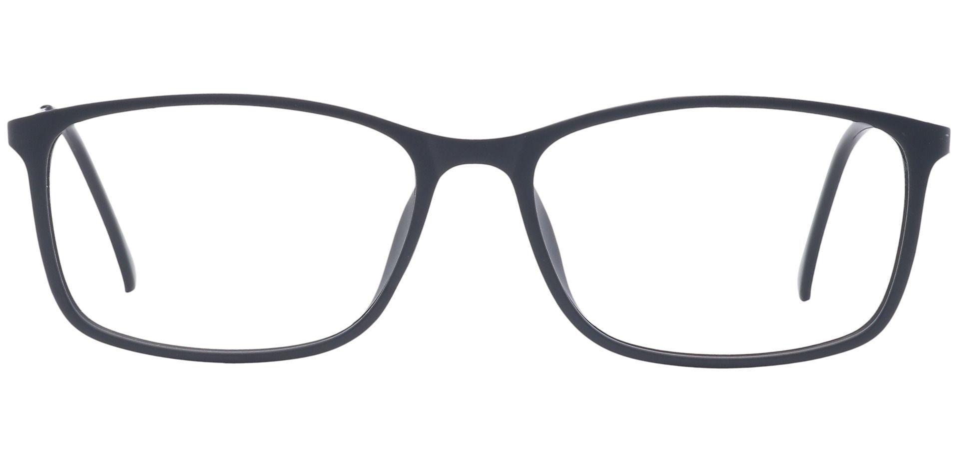 Benson Rectangle Prescription Glasses - Black