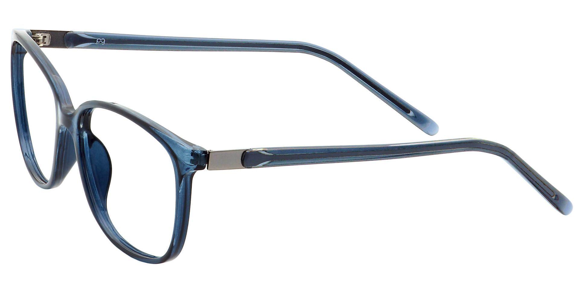 Archie Square Progressive Glasses - Blue
