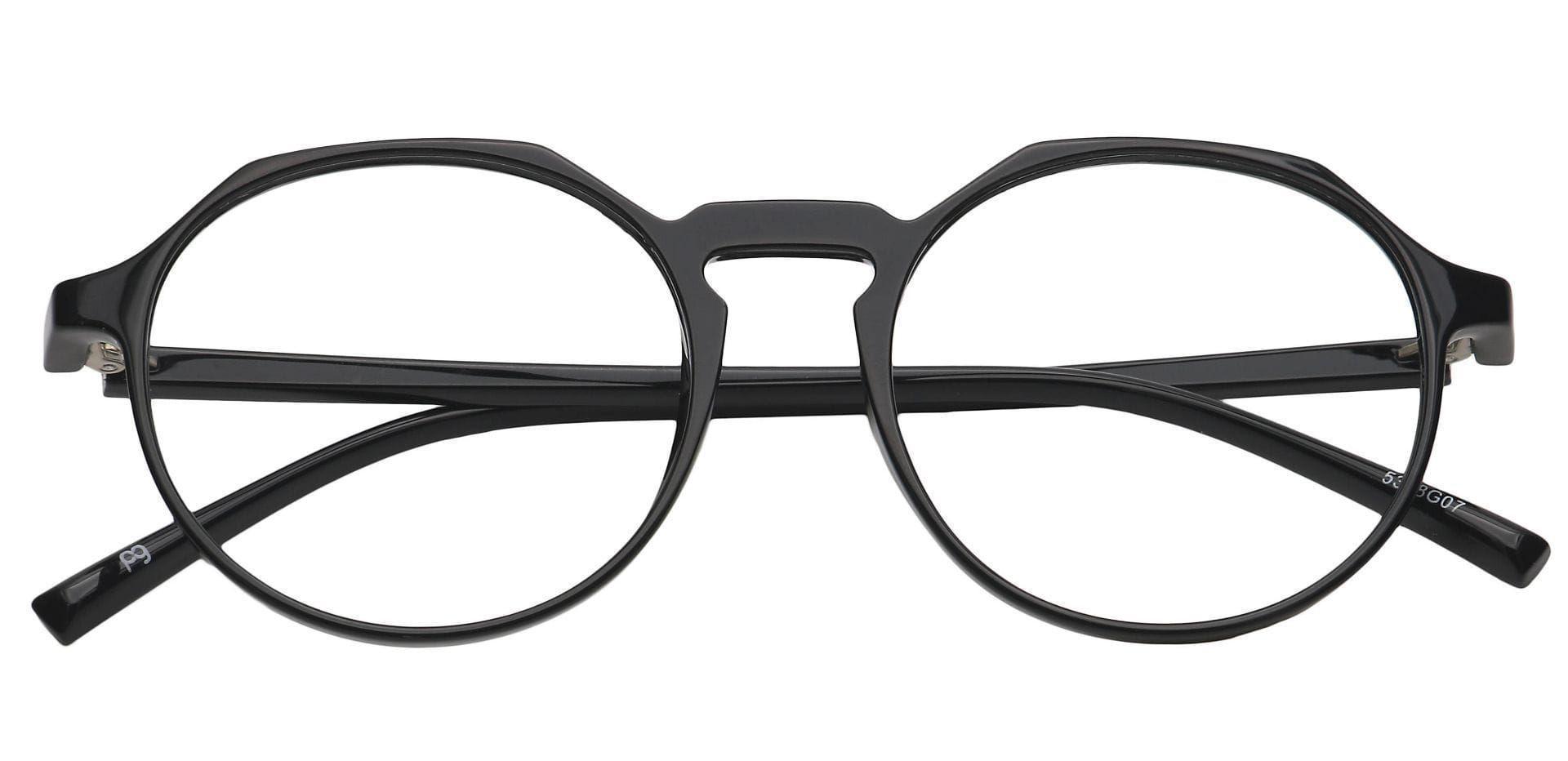 Paragon Oval Progressive Glasses - Gray