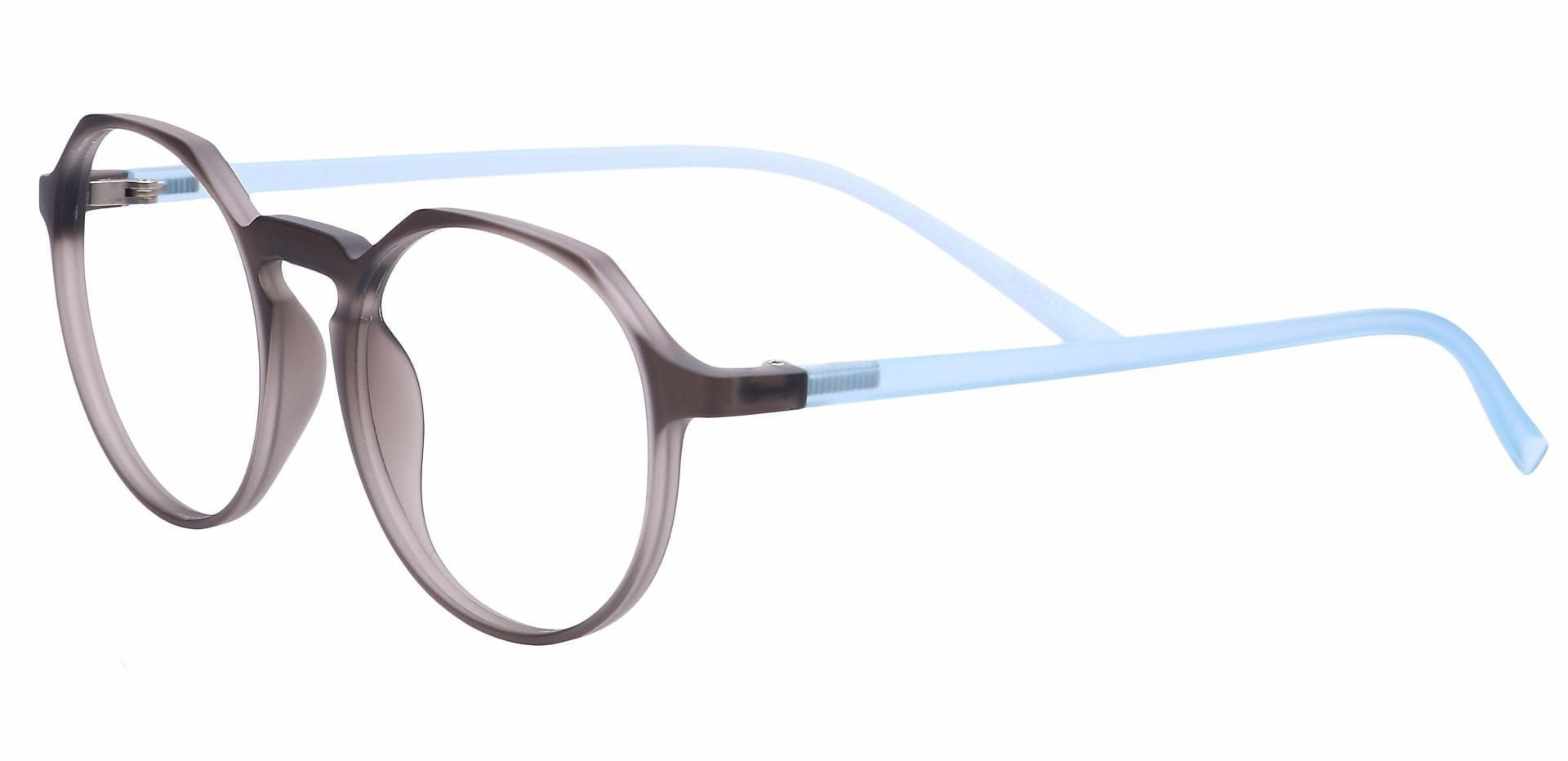 Paragon Oval Prescription Glasses - Blue