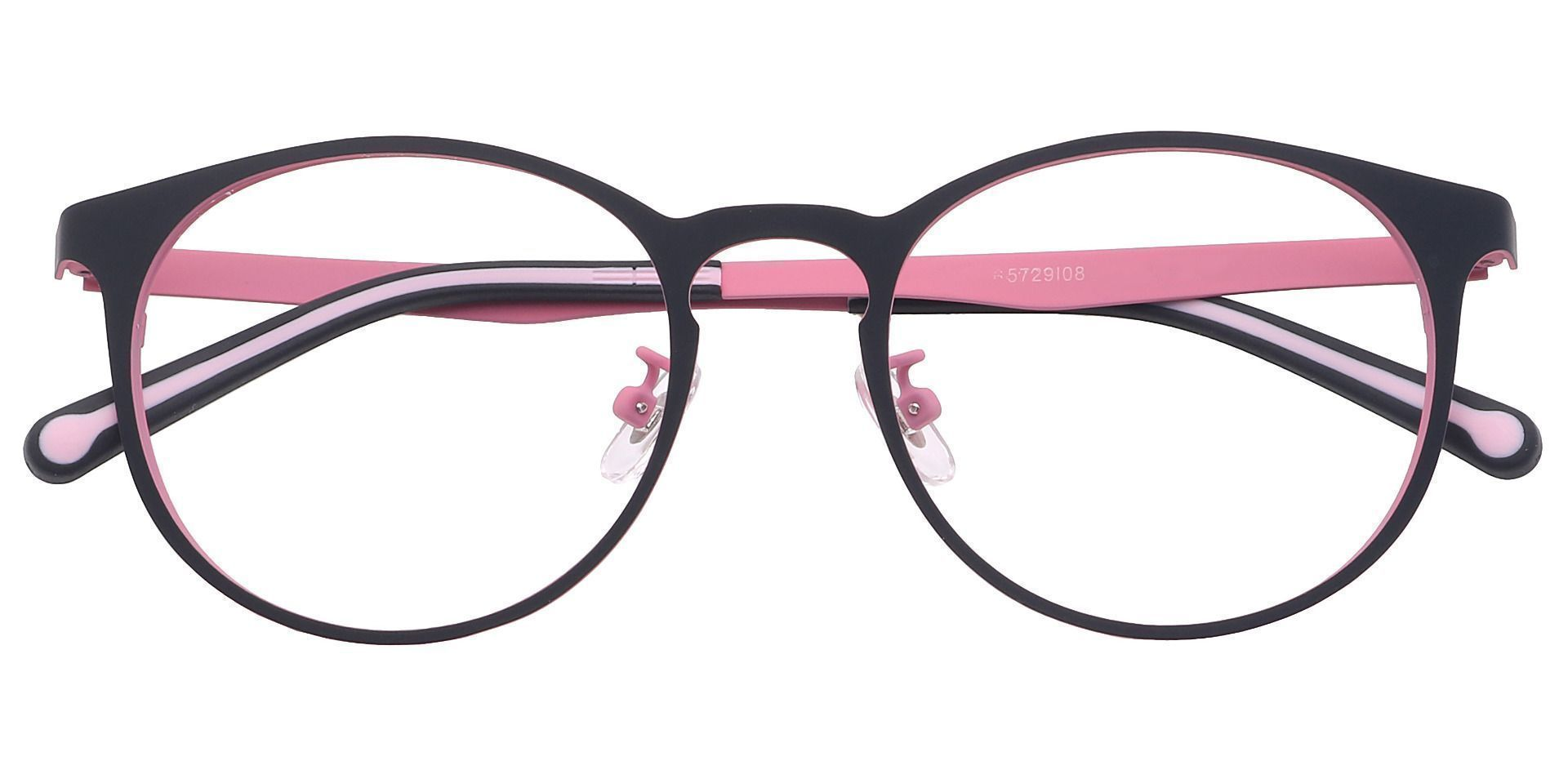 Wallace Oval Lined Bifocal Glasses - Pink