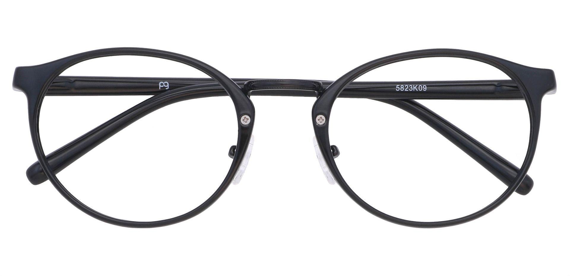 Bloom Oval Prescription Glasses - Black