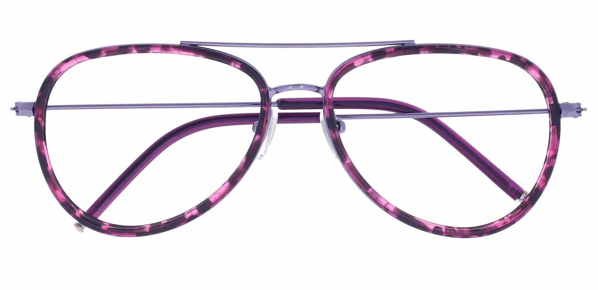 Ace Aviator Non-Rx Glasses - Purple