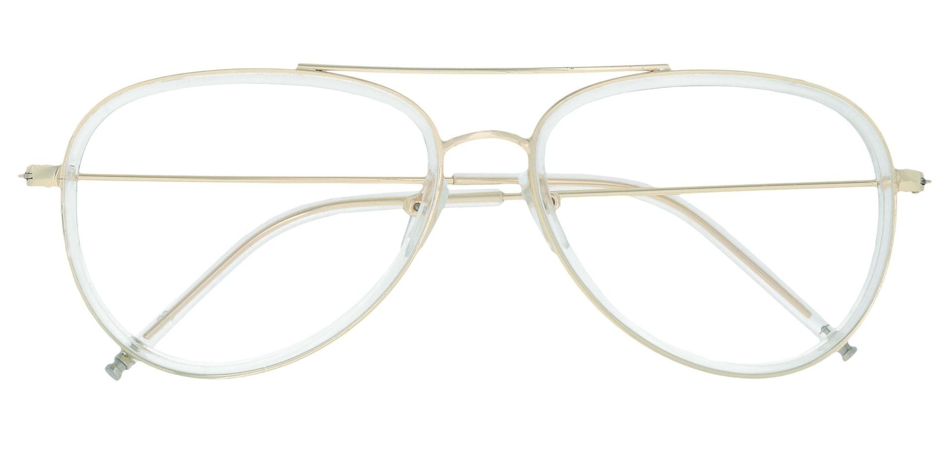 Ace Aviator Reading Glasses - Yellow