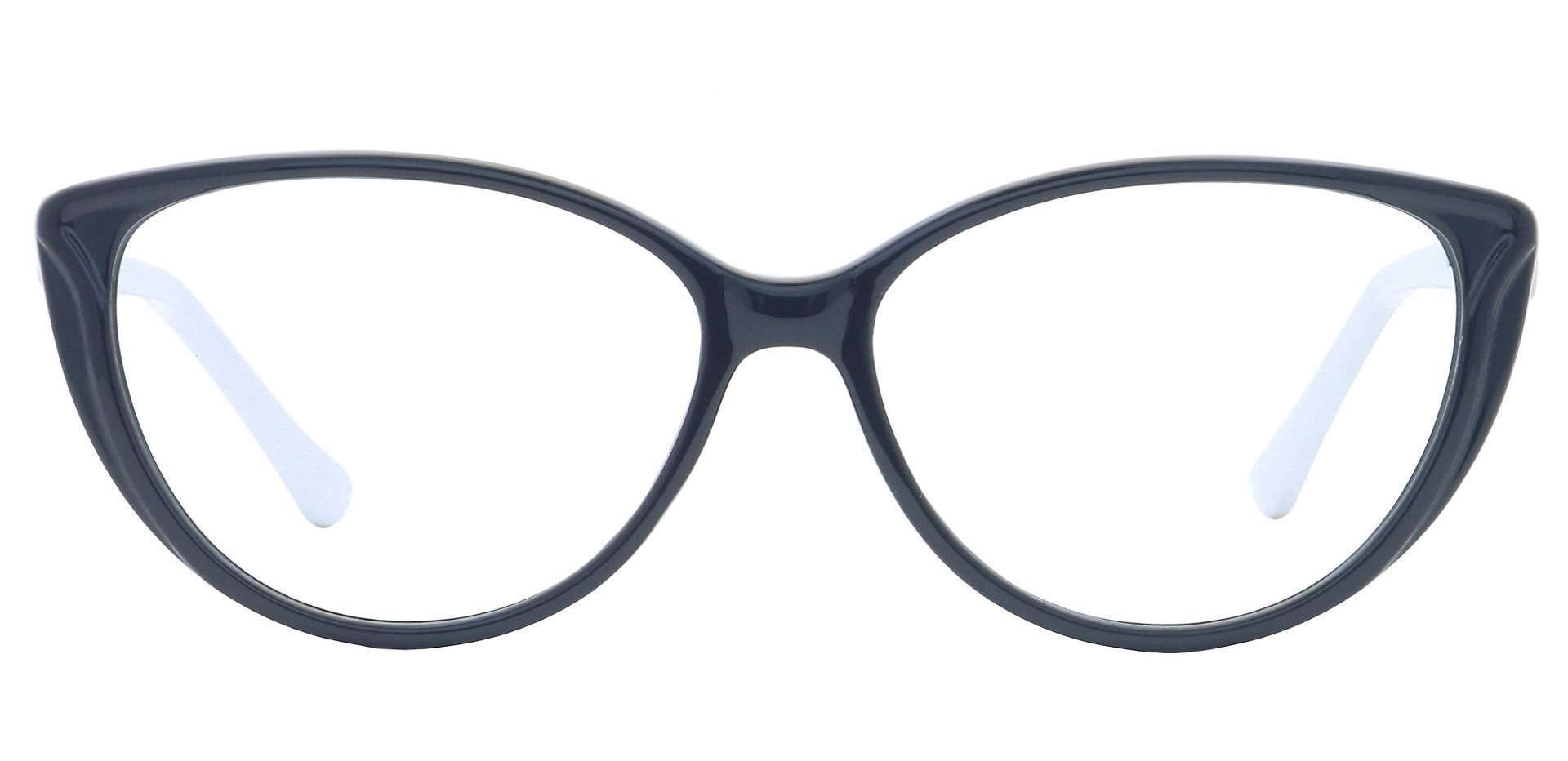 Amore Cat-Eye Progressive Glasses - Black