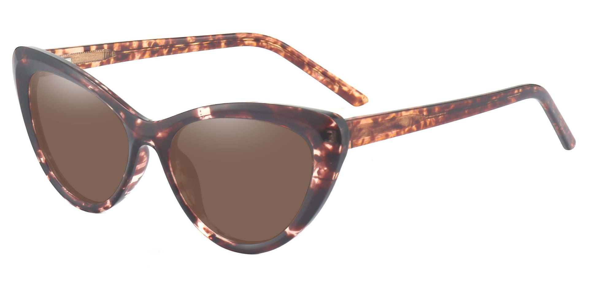 Gemini Cat Eye Non-Rx Sunglasses - Tortoise Frame With Brown Lenses
