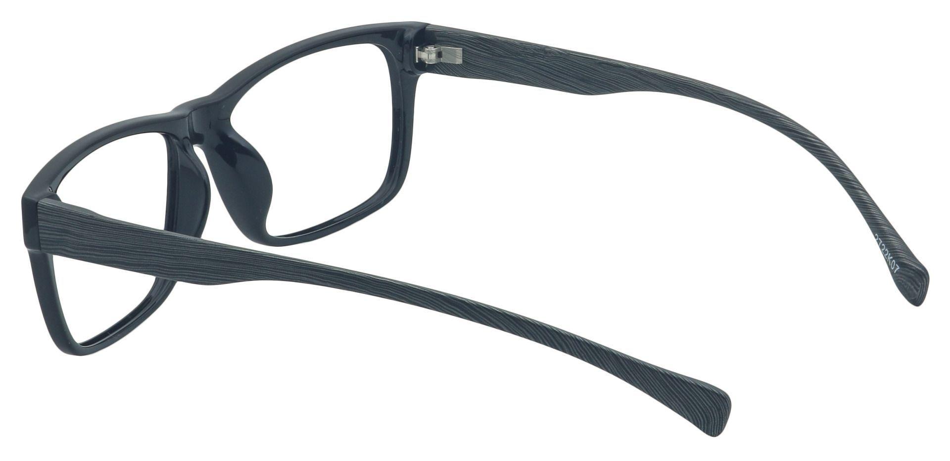 Quartz Rectangle Prescription Glasses - Black