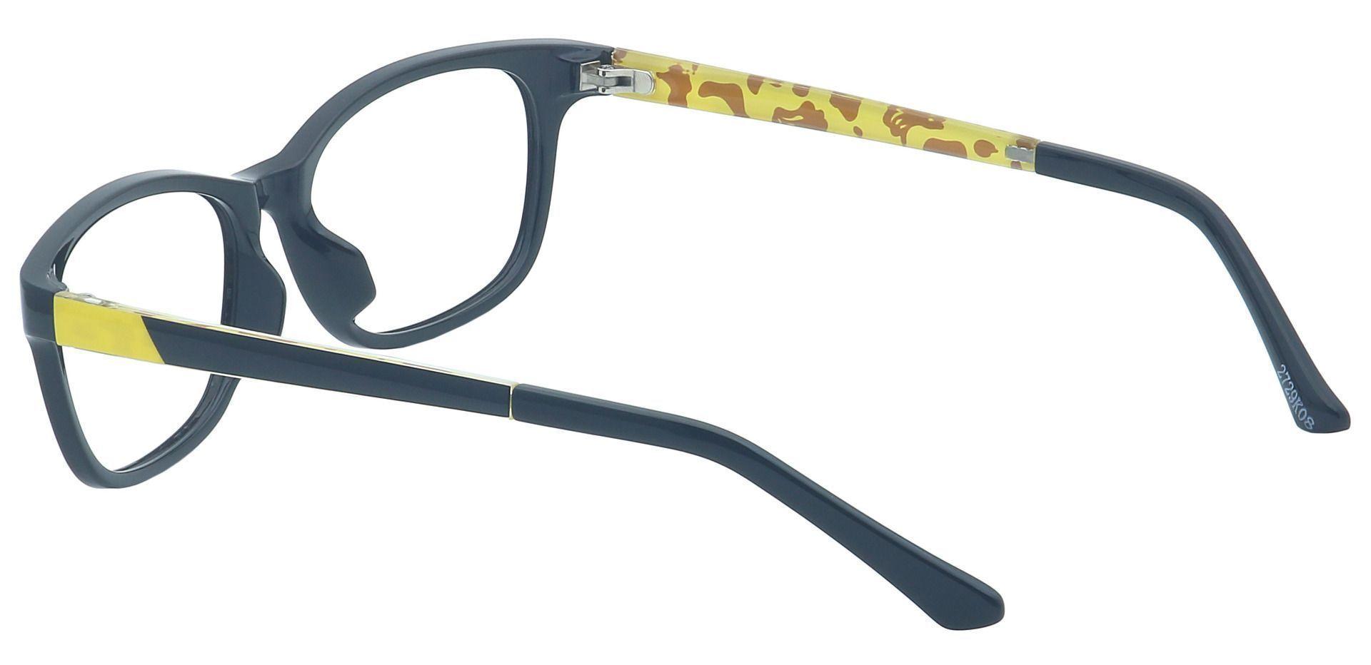 Britton Rectangle Eyeglasses Frame - Black