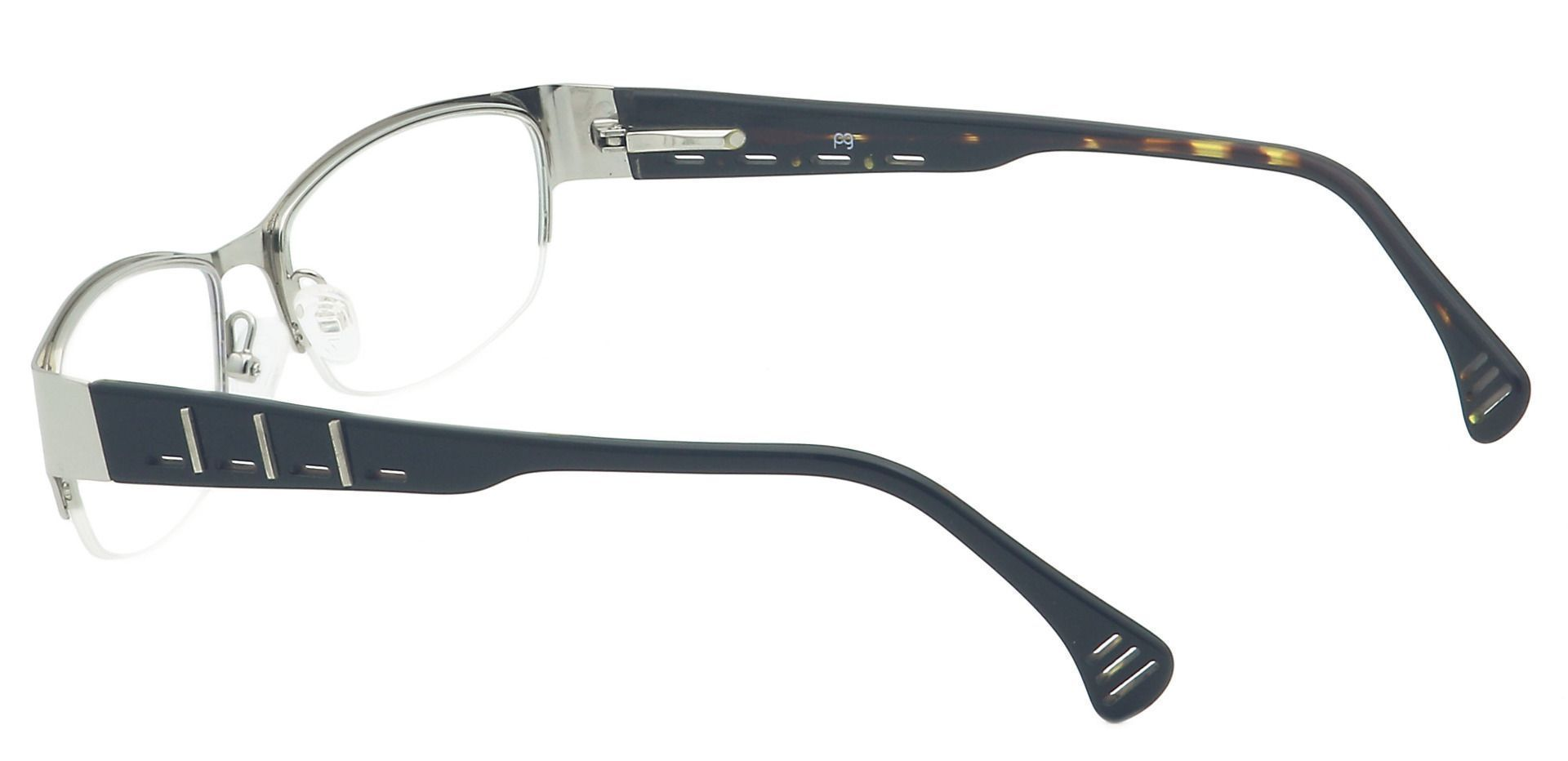 Layla Rectangle Lined Bifocal Glasses - Clear