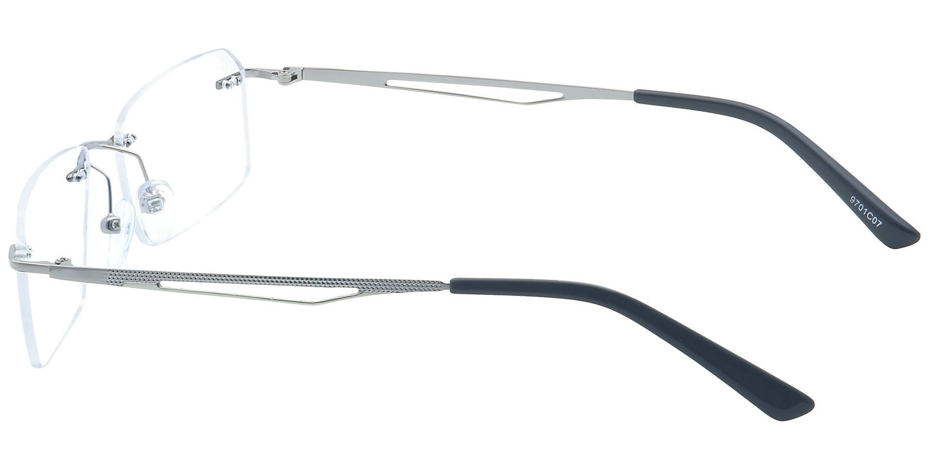 Finesse Rimless Progressive Glasses - Clear