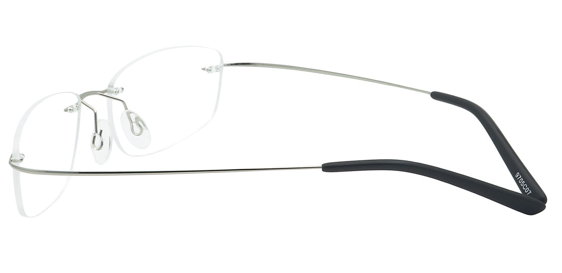 Jennie Rimless Lined Bifocal Glasses - Clear