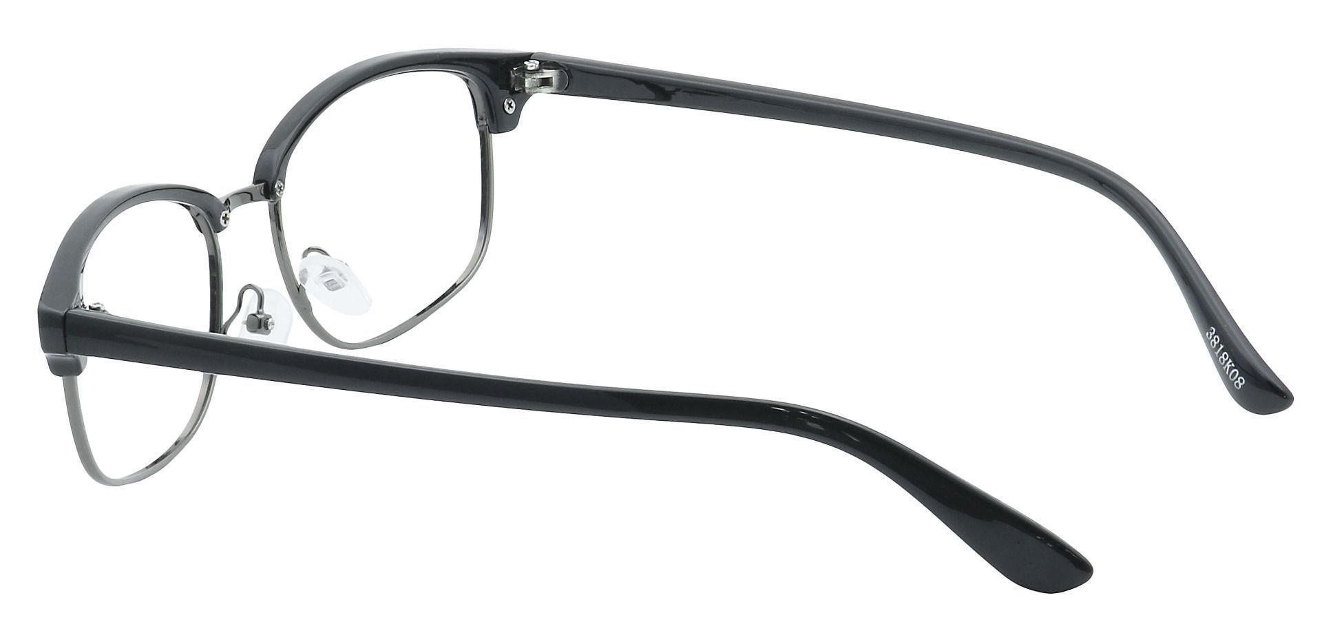 Kendrick Browline Prescription Glasses - Black