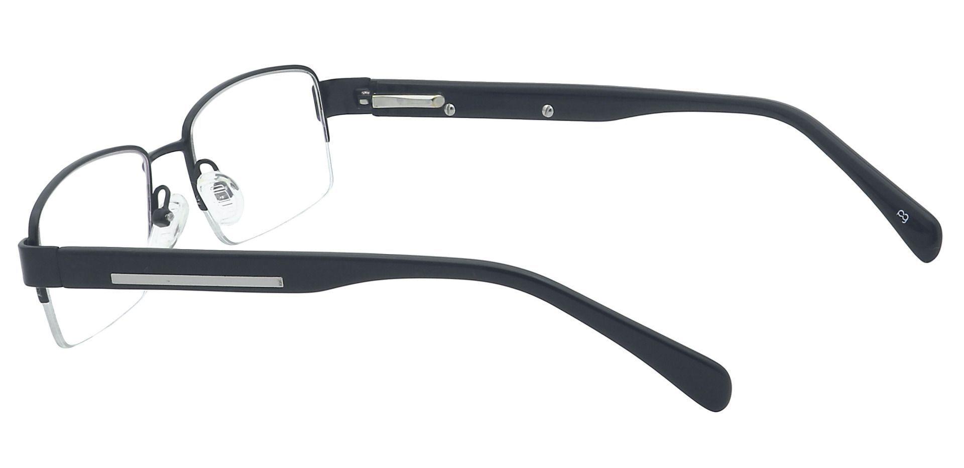 Ramon Rectangle Prescription Glasses - Black