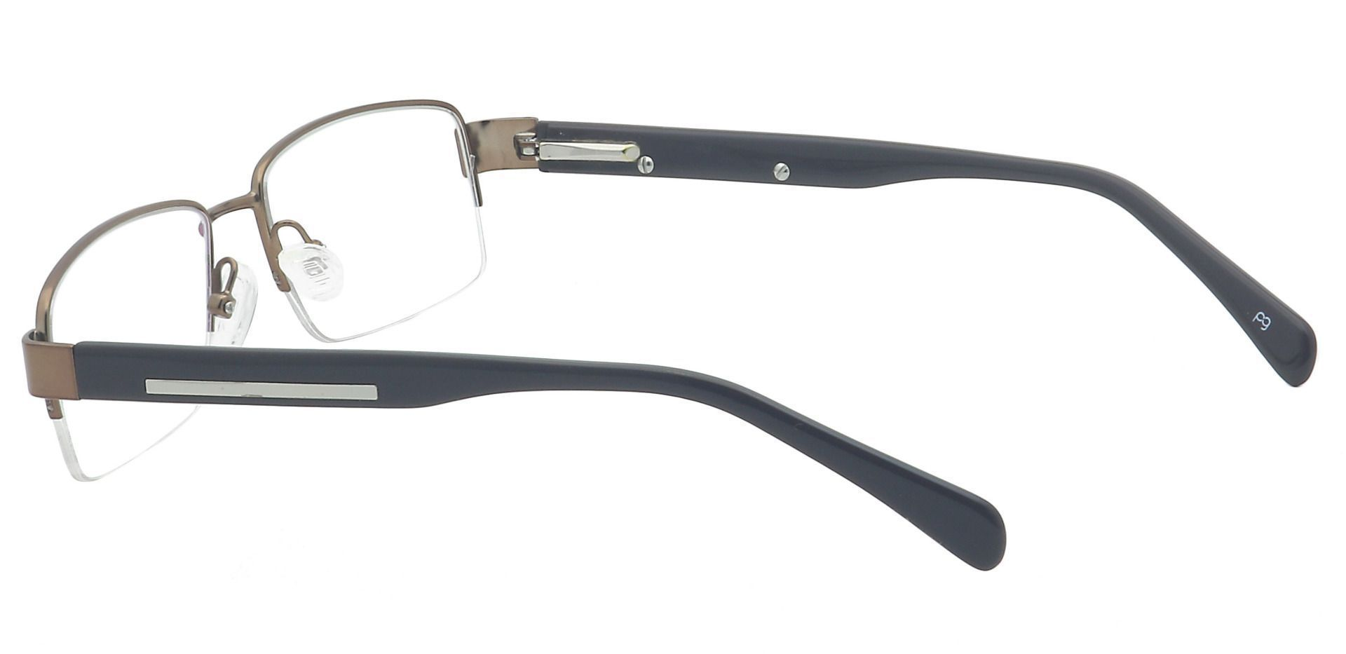 Ramon Rectangle Lined Bifocal Glasses - Brown