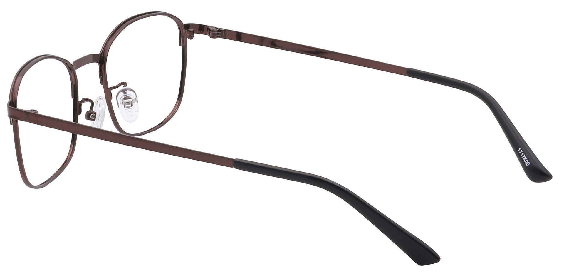 Carmen Square Progressive Glasses - Black