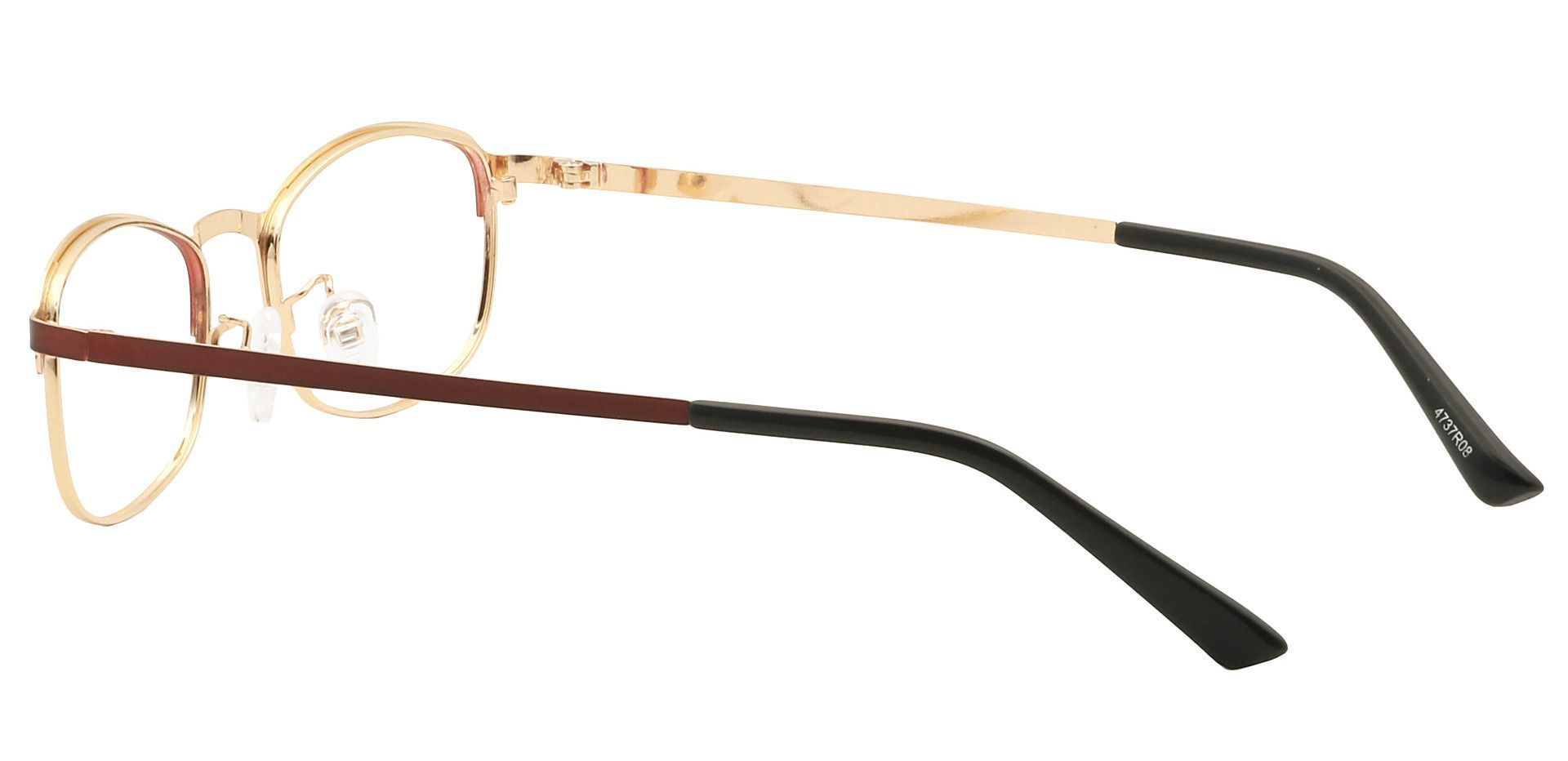 Tyrell Oval Prescription Glasses - Red