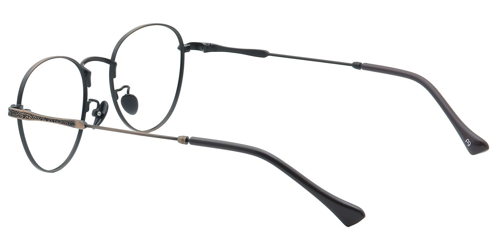 Shawn Oval Progressive Glasses - Brown