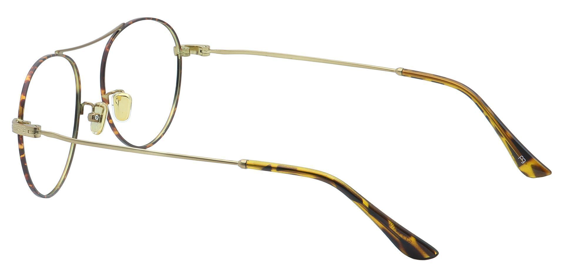 Finn Round Prescription Glasses - Yellow
