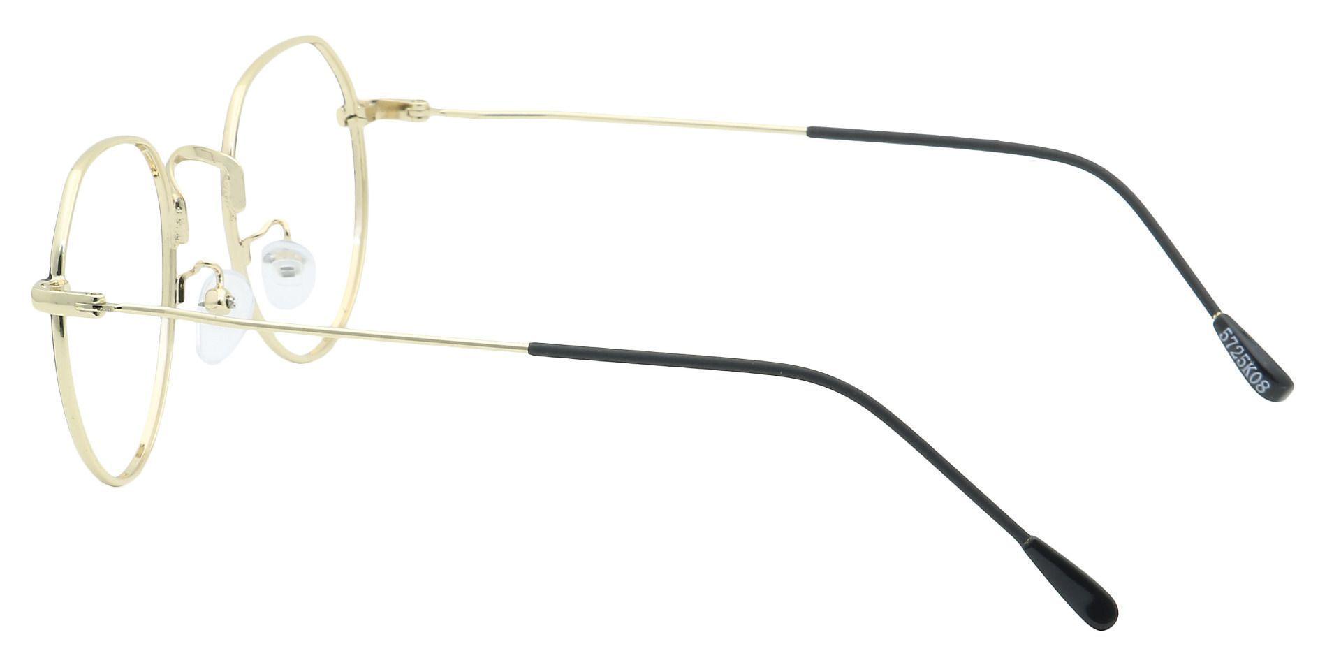 Emerson Round Prescription Glasses - Black