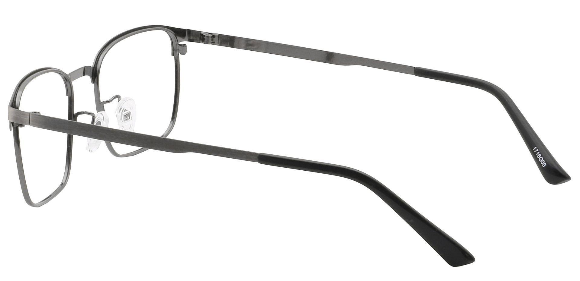 Kingston Square Reading Glasses - Gray