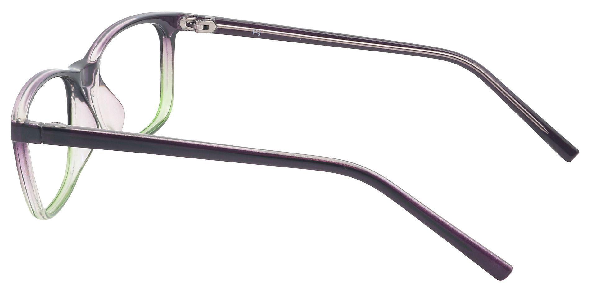 Safita Oval Reading Glasses - Grape/kiwi Fade