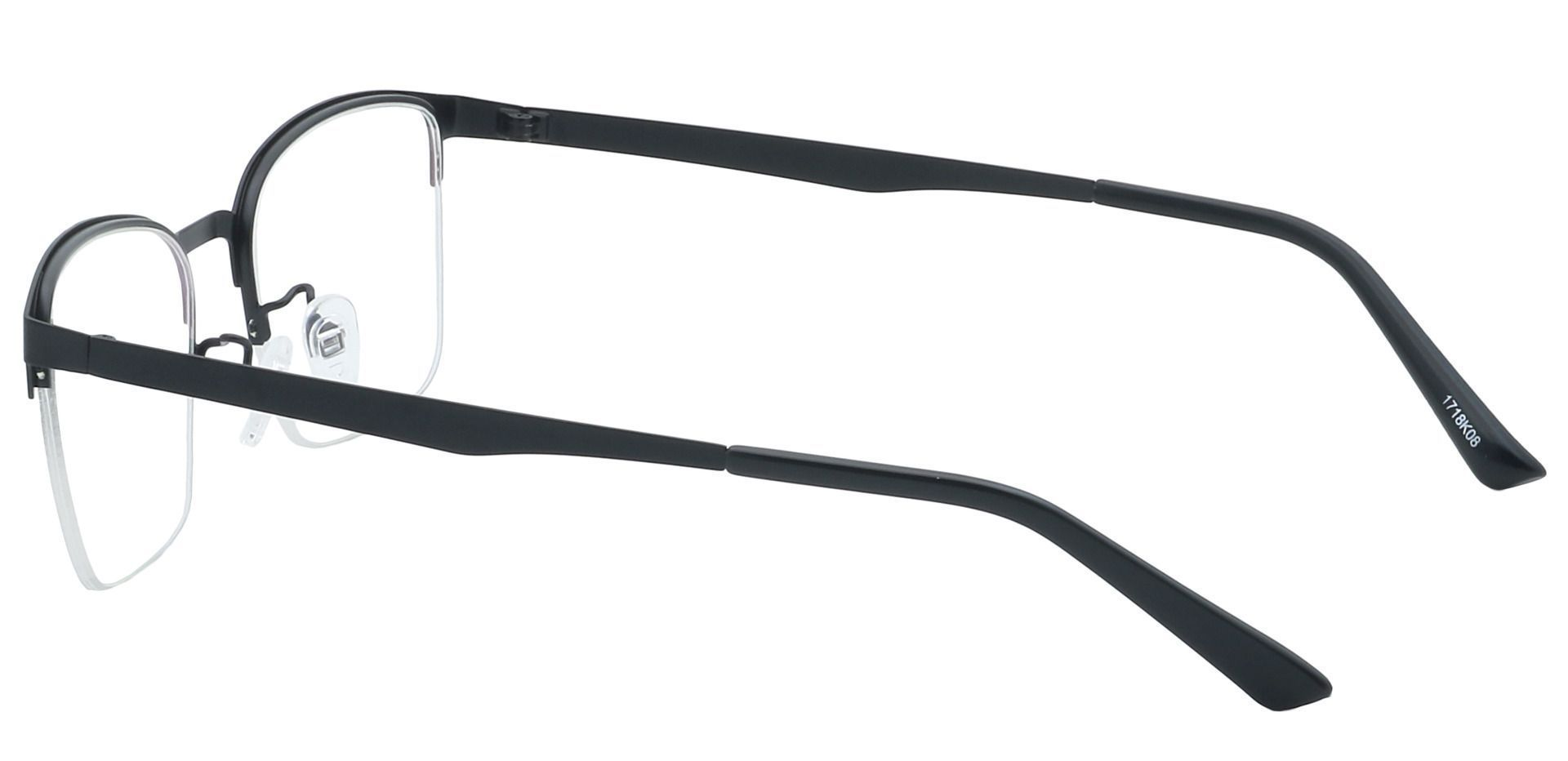 Eden Square Prescription Glasses - Black