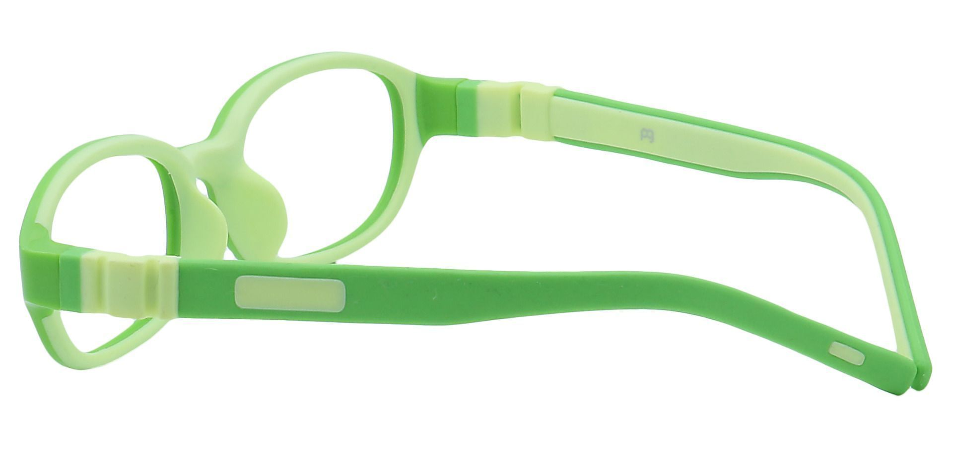 Scoop Oval Single Vision Glasses -  Lime Green /kiwi Green