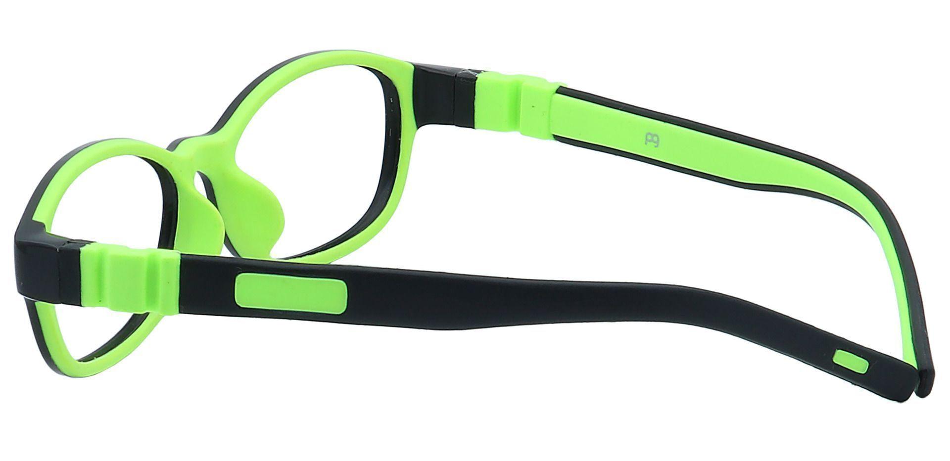 Moxie Oval Eyeglasses Frame - Black