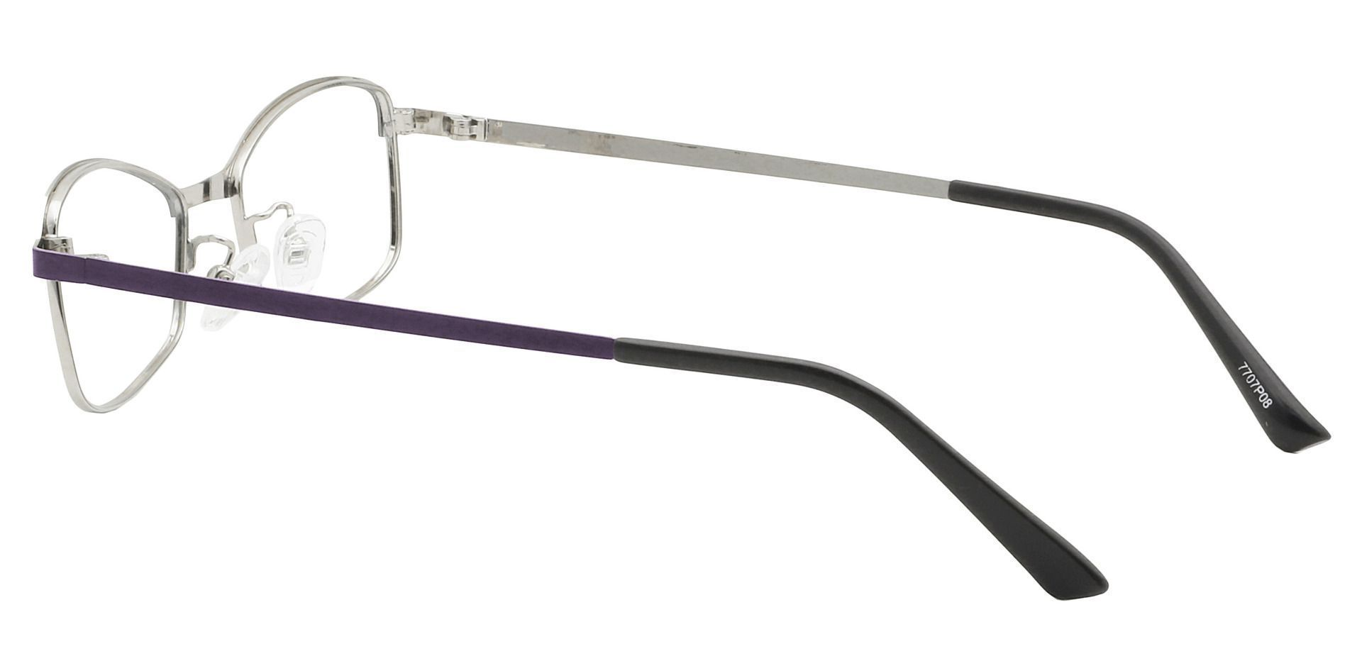 Shelby Rectangle Reading Glasses - Purple