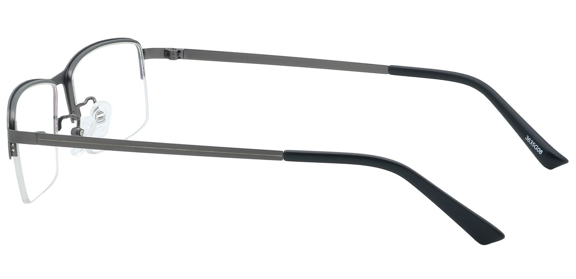 Channing Rectangle Progressive Glasses - Gray