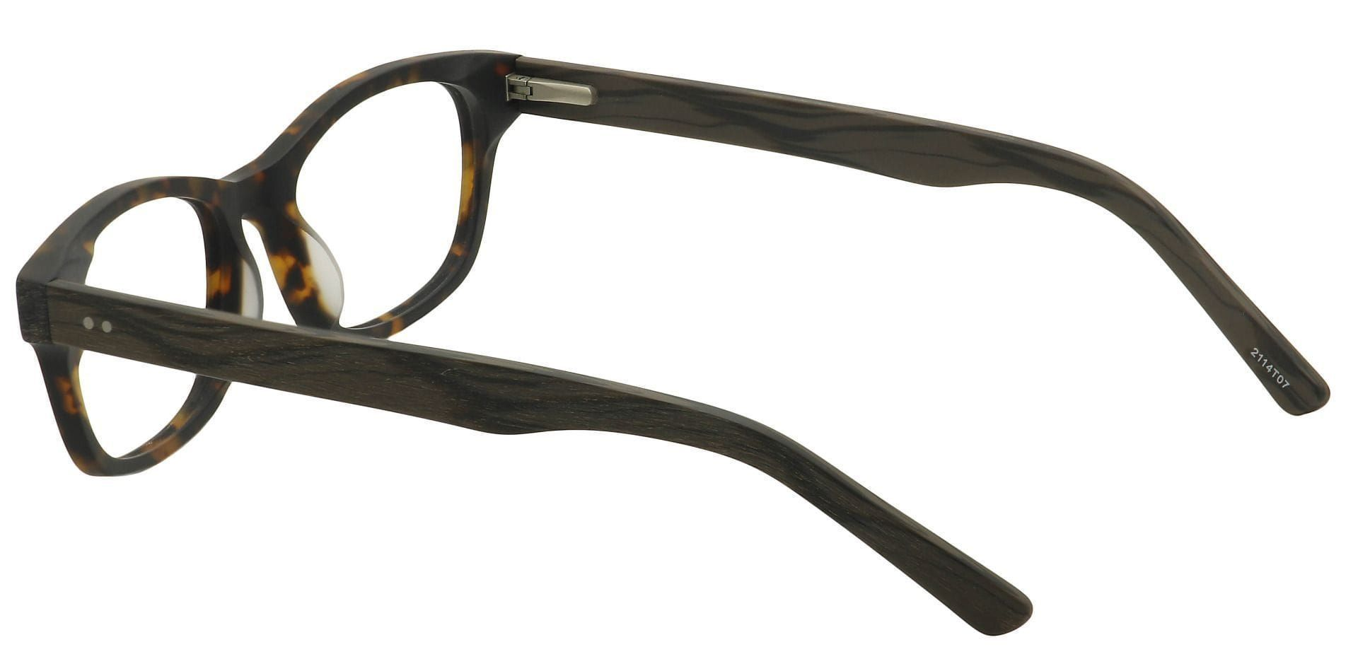 Timbre Rectangle Blue Light Blocking Glasses - Tortoise