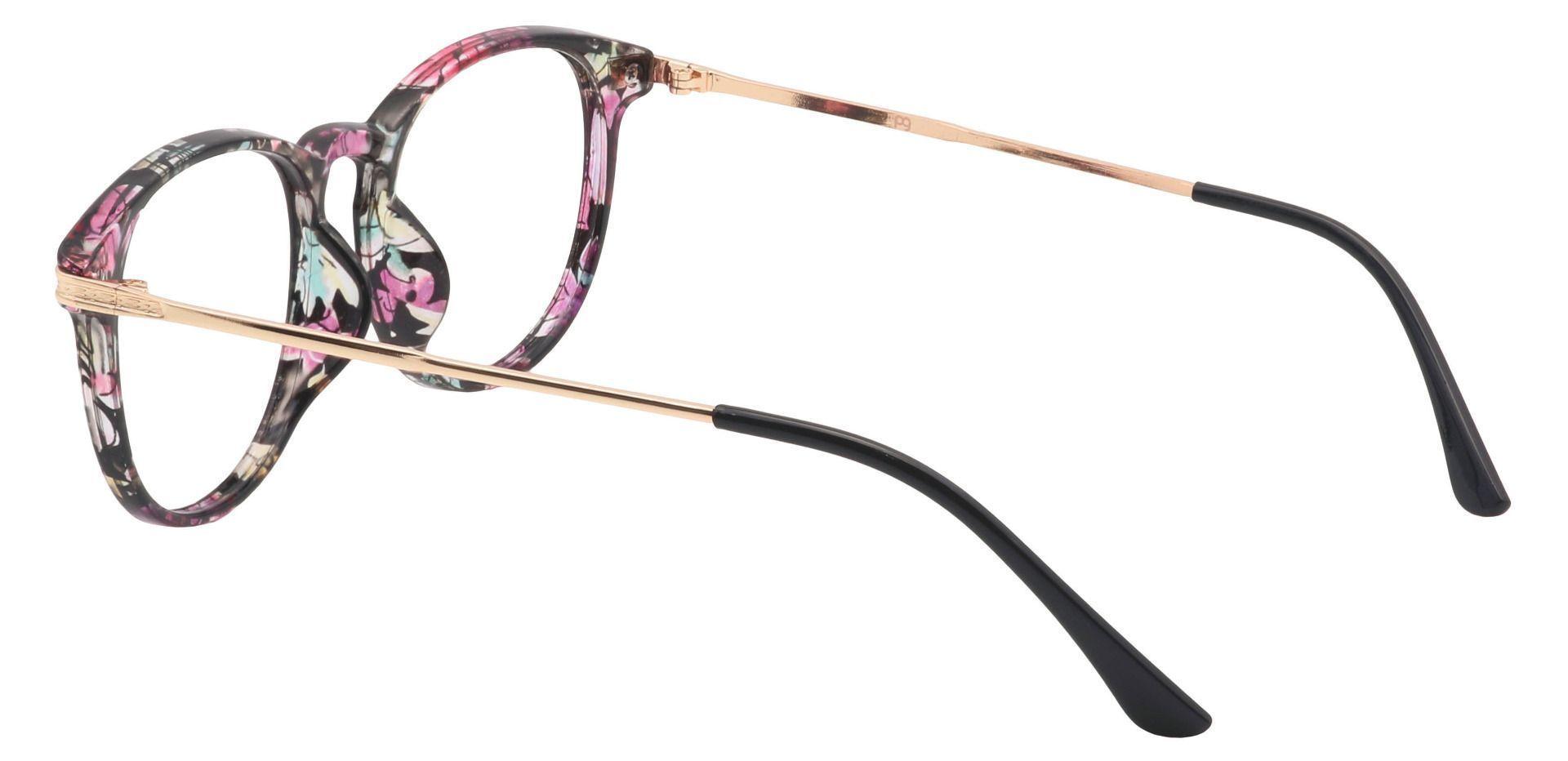 Rojo Round Prescription Glasses - Floral