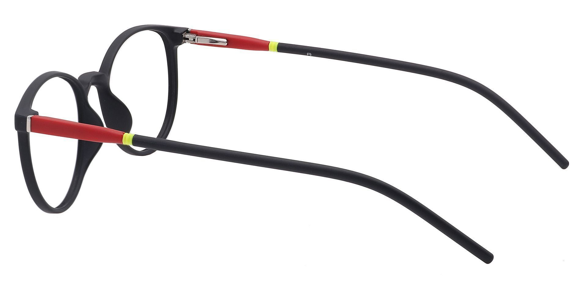 Vivi Round Prescription Glasses - Black