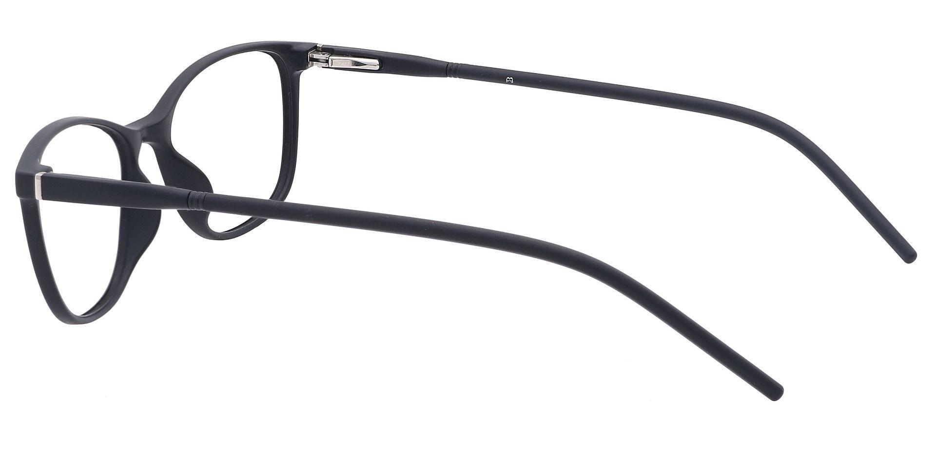 Hazel Square Prescription Glasses - Black