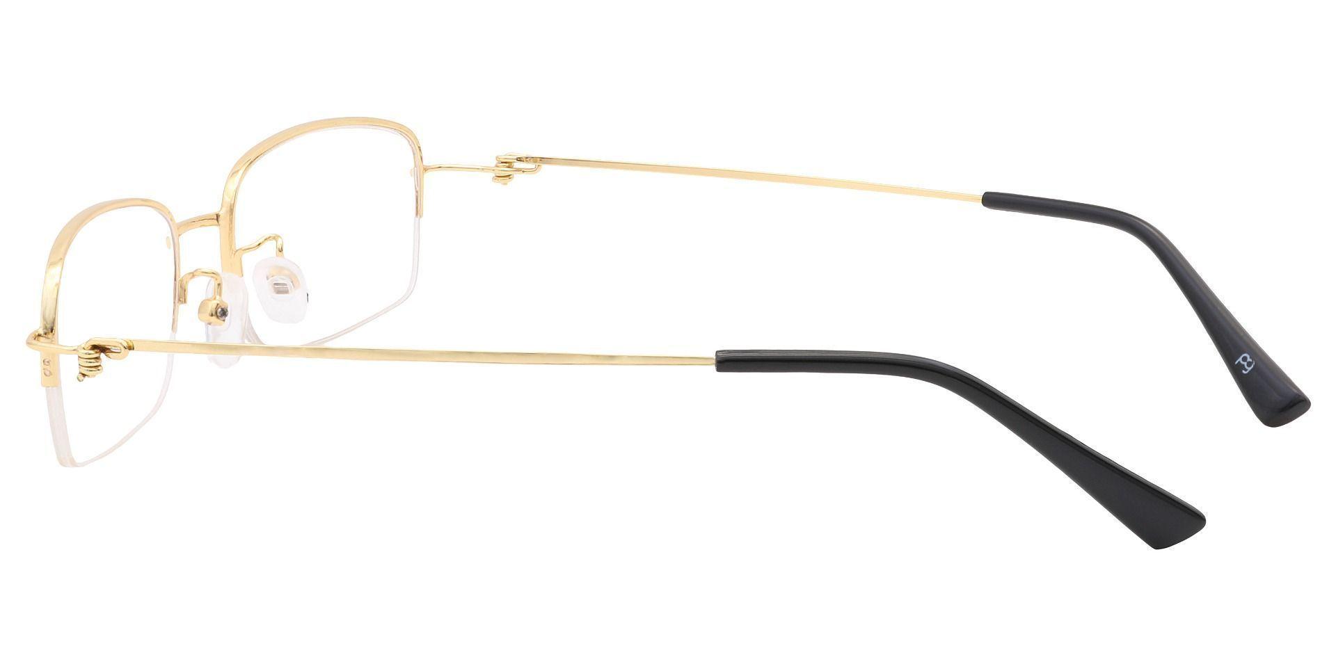 Walton Square Prescription Glasses -   Gold