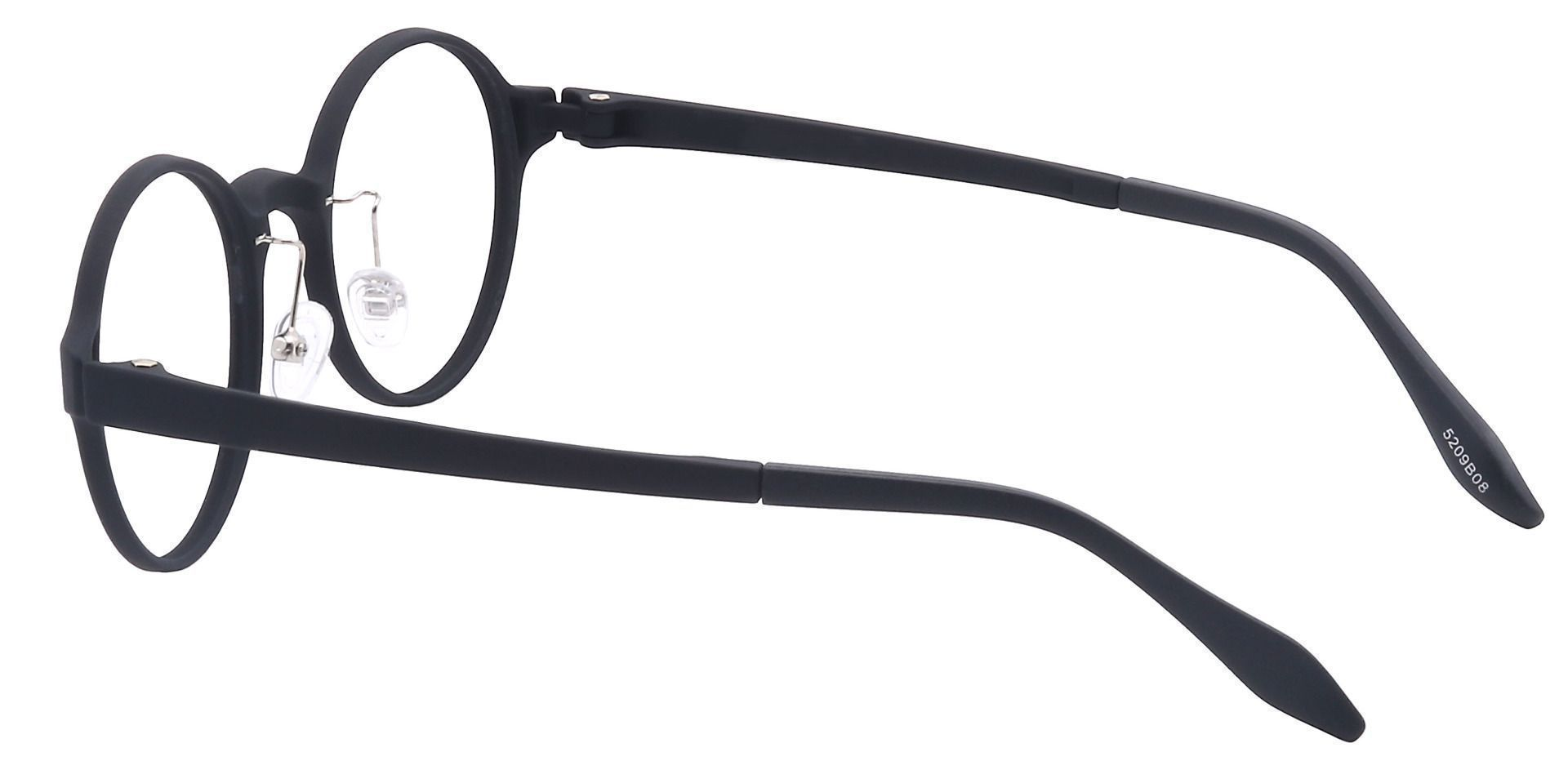Freddie Oval Prescription Glasses - Black