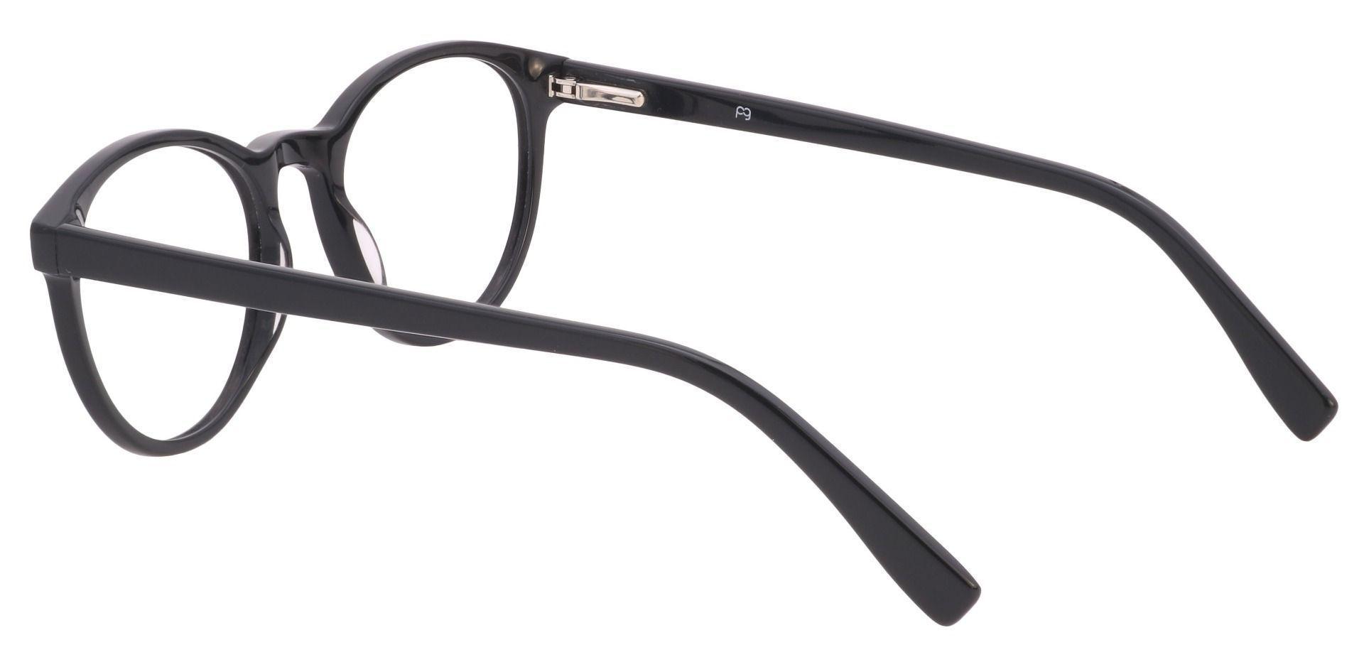 Stellar Oval Prescription Glasses - Black