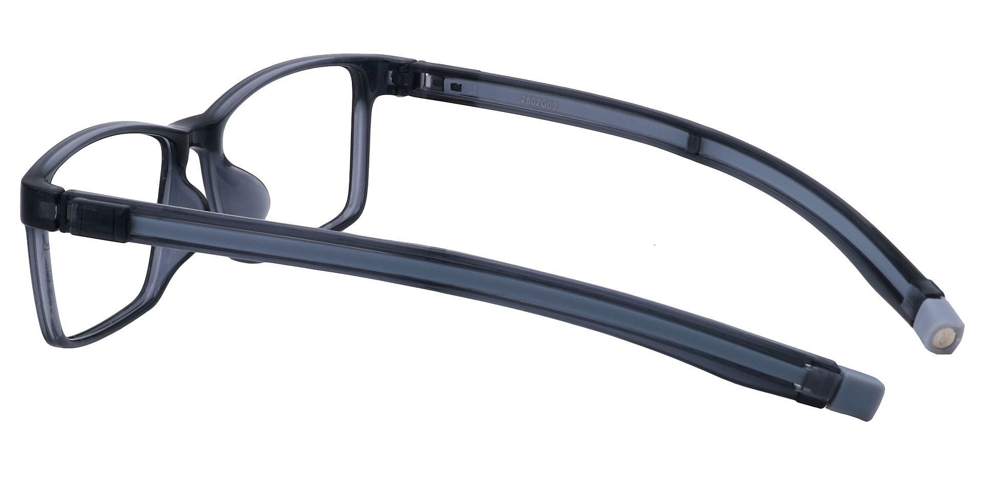 Raine Rectangle Prescription Glasses - Grey Crystal