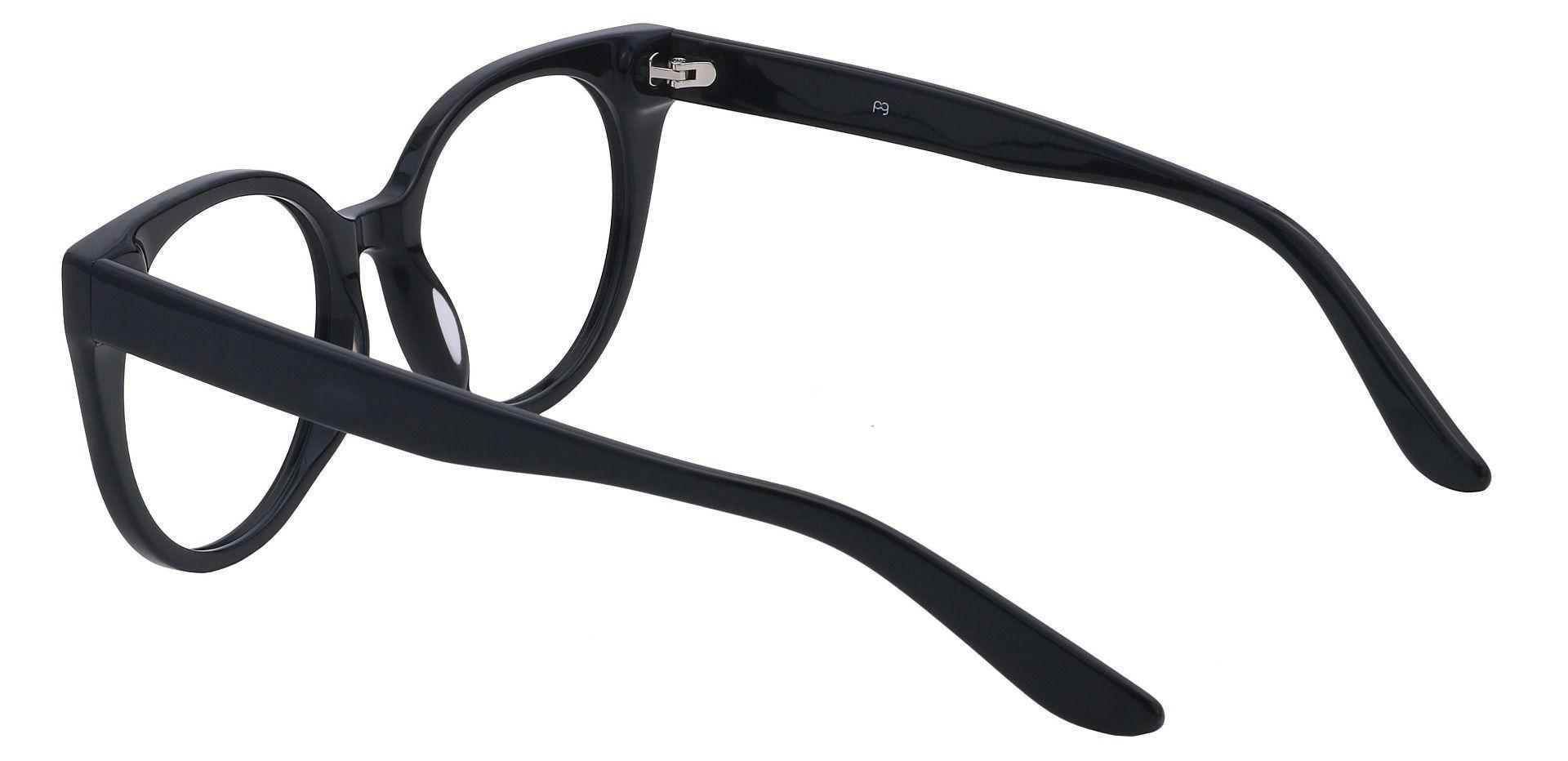 Balmoral Cat-Eye Prescription Glasses - Black