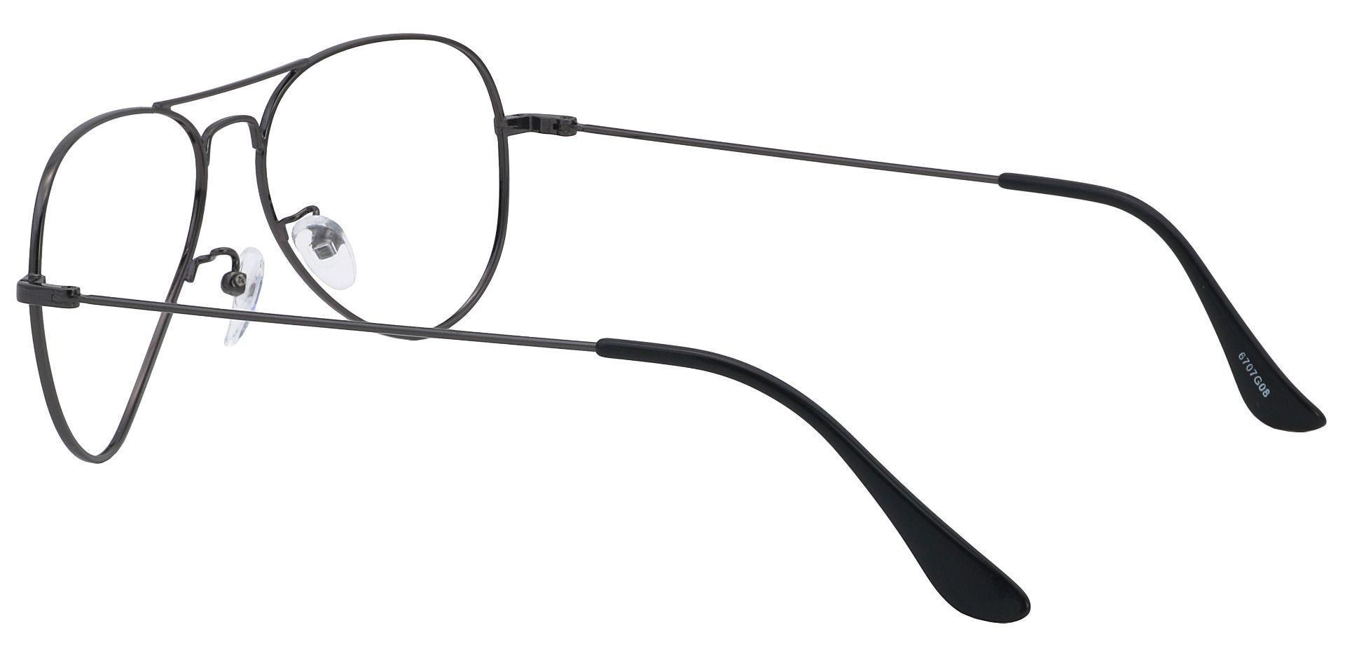 Memphis Aviator Prescription Glasses - Gray