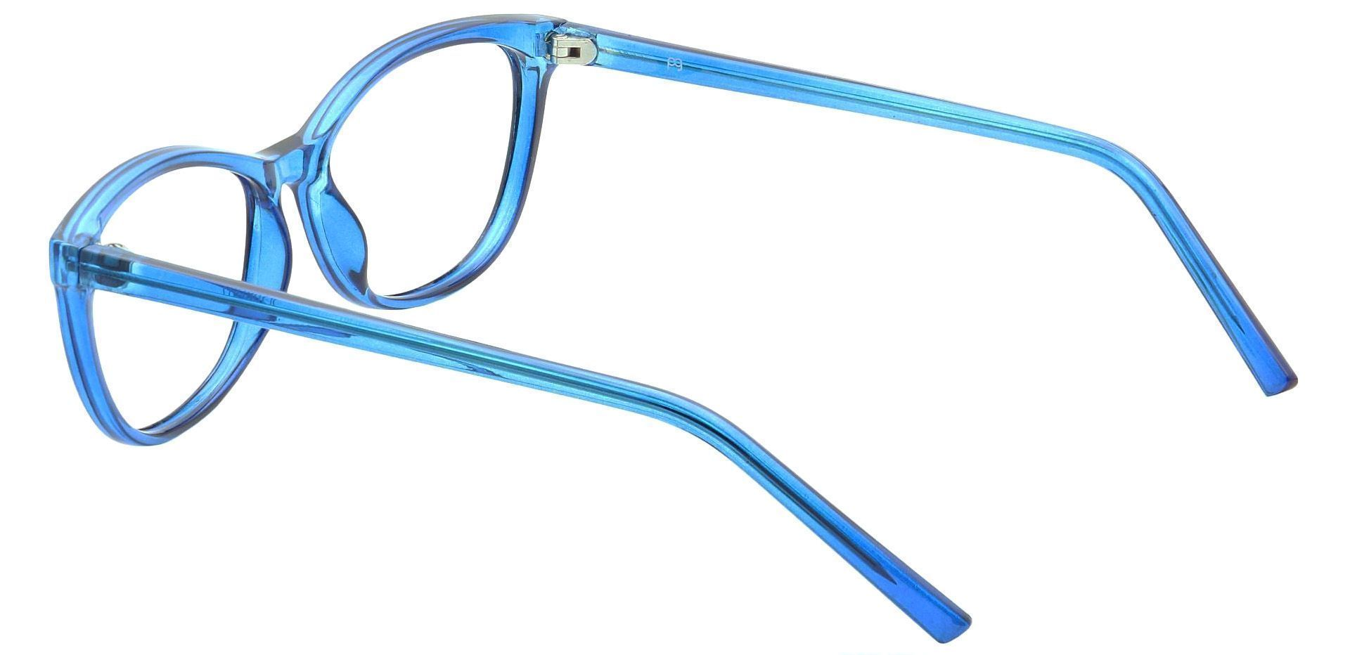Sally Oval Reading Glasses - Blue