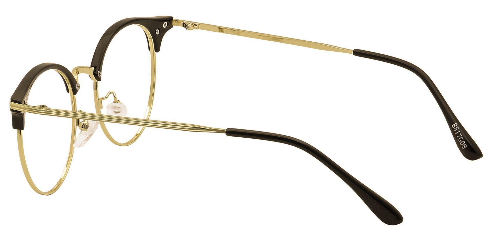 Izzie Browline Blue Light Blocking Glasses - Yellow